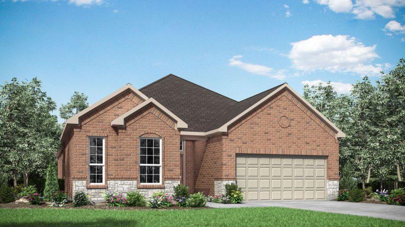 Drees Custom Homes Trailwood subdivision 11509 Misty Ridge Drive Roanoke TX 76262