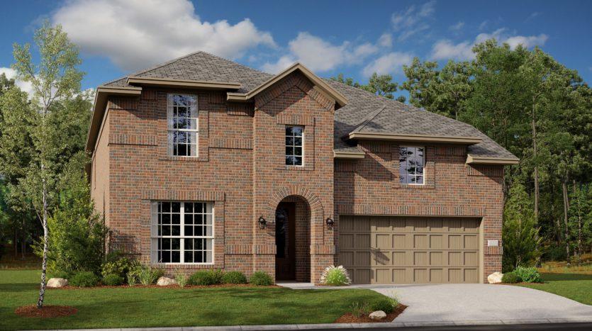 Lennar Overland Grove 50's subdivision 1108 Garden Grove Forney TX 75126