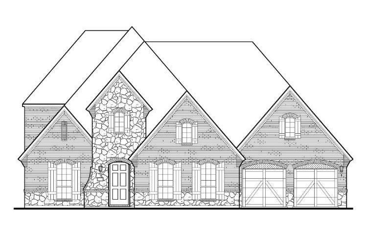 BelclaireHomes Windsong Ranch 86 subdivision 4501 Mill Branch Drive Prosper TX 75078