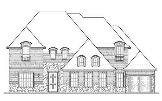 BelclaireHomes Windsong Ranch 86 subdivision 4440 Cotton Belt Lane Prosper TX 75078