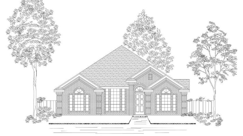 First Texas Homes Villages of Creekwood subdivision 1308 Peregrine Trail Frisco TX 75034