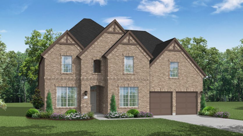Coventry Homes Pecan Square subdivision 712 Redbrick Lane Northlake TX 76247
