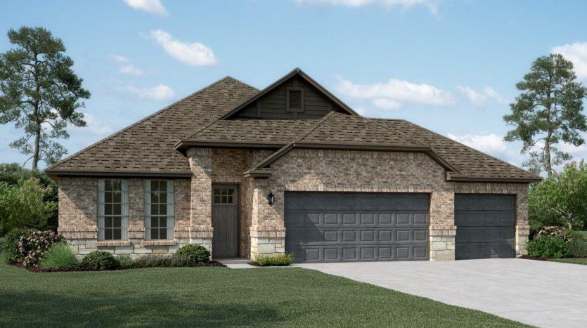 K. Hovnanian® Homes Ascend at Diamond Creek Estates subdivision 517 Tuscany Drive Forney TX 75126