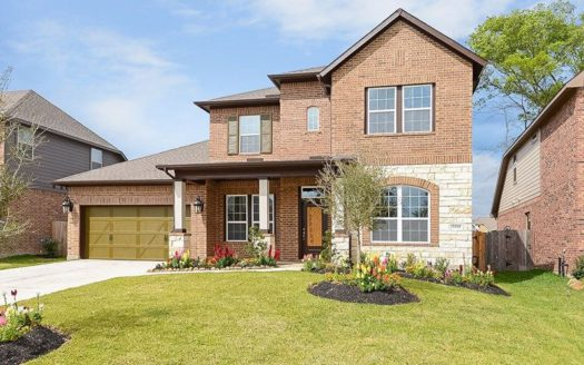 David Weekley Homes South Pointe  Village Series subdivision 3203 Carrington Drive Mansfield TX 76063