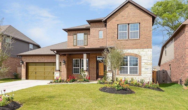 David Weekley Homes South Pointe  Village Series subdivision 3203 Carrington Drive Mansfield TX 76063
