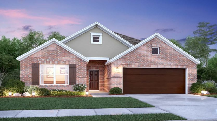 M/I Homes Chapel Trails subdivision 2413 Jeans Mill Drive McKinney TX 75071
