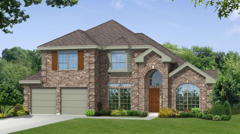 Gallery Custom Homes Woodbridge Estates subdivision 605 Sierra Lane Wylie TX 75098