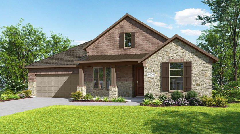 Trendmaker Homes Discovery Collection 60' at Gateway Parks subdivision 1604 Cedar Crest Drive Forney TX 75126