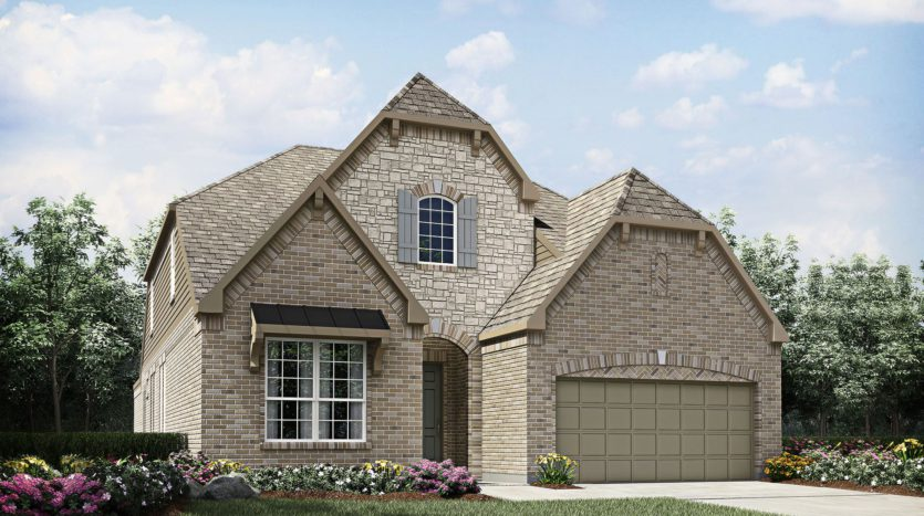 Drees Custom Homes Seventeen Lakes subdivision 14620 Donner Trail Roanoke TX 76262