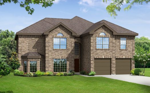 Harwood Homes Falls of Prosper subdivision 2161 Lassen Drive Prosper TX 75078