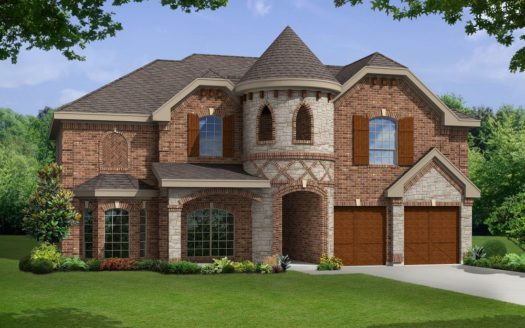 First Texas Homes Willow Wood subdivision 813 Claremont Court McKinney TX 75071