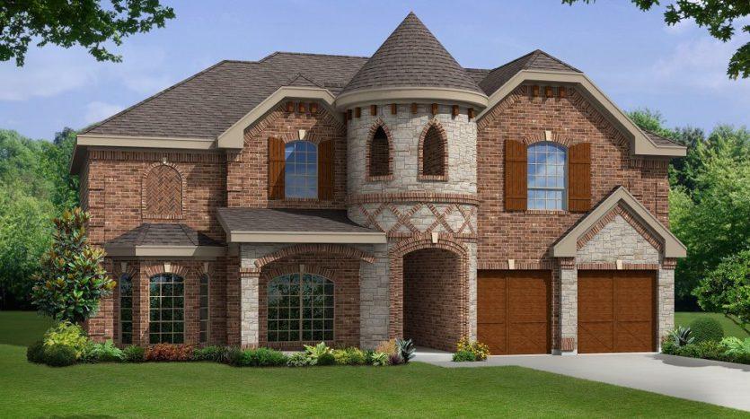 First Texas Homes Woodcreek subdivision 330 Aeronca Drive Rockwall TX 75087