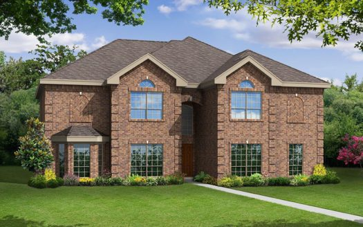 Gallery Custom Homes Lakes of La Cima subdivision Mountain Creek Lane Prosper TX 75078