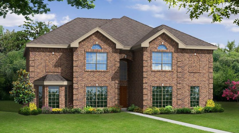 First Texas Homes Collinsbrook Farm subdivision 12515 Dove Chase Lane Frisco TX 75035