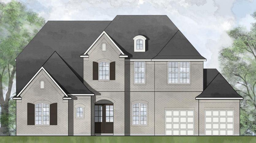 Drees Custom Homes Trinity Falls 70 subdivision 913 Lost Woods Way McKinney TX 75071