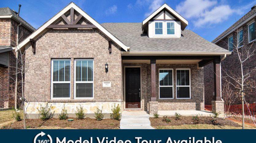 Pulte Homes Merritt Village subdivision Castle Drive Rowlett TX 75089
