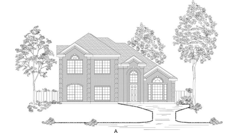 First Texas Homes Somerset subdivision 3404 Lakemont Drive Mansfield TX 76084