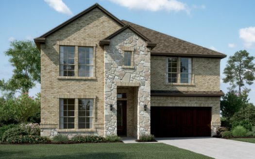 K. Hovnanian® Homes Calloway Trails subdivision 1609 Spanish Bay Court Little Elm TX 75068
