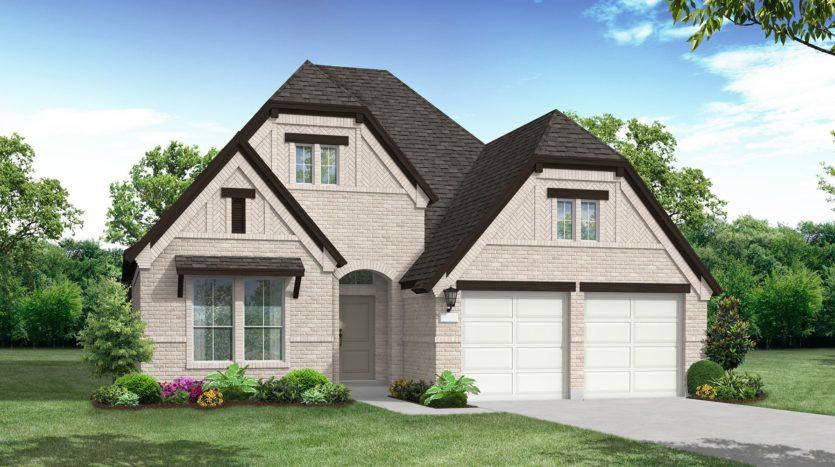 Coventry Homes Canyon Falls subdivision 6380 Prairie Brush Argyle TX 76226