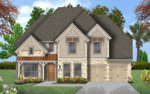 Coventry Homes Harvest 60' Homesites subdivision 1428 12th Street Argyle TX 76226