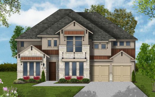 Coventry Homes Canyon Falls 60' subdivision 204 Big Sky Cr Argyle TX 76226