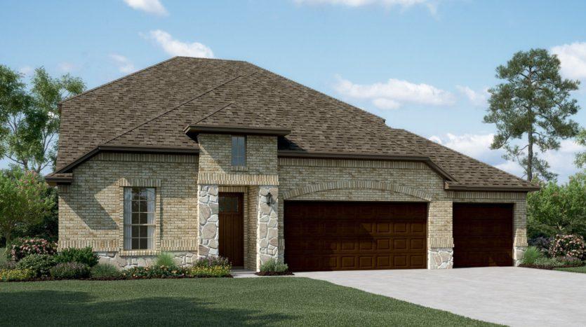 K. Hovnanian® Homes Ascend at Diamond Creek Estates subdivision 513 Tuscany Drive Forney TX 75126