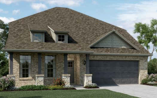 K. Hovnanian® Homes Ascend at Diamond Creek Estates subdivision 1530 Havenrock Dr Forney TX 75126