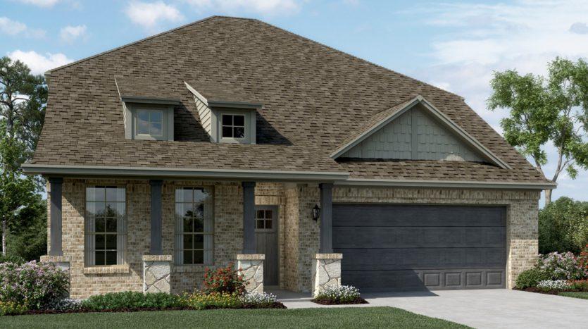 K. Hovnanian® Homes Ascend at Diamond Creek Estates subdivision 1530 Havenrock Dr Forney TX 75126