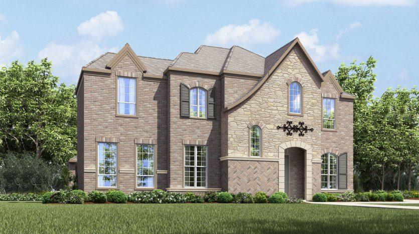 Drees Custom Homes Viridian subdivision 1717 Silver Marten Trail Arlington TX 76005