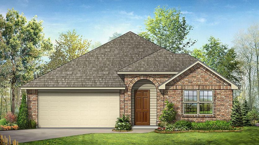 Bloomfield Homes West Crossing subdivision 908 Edinburgh Drive Anna TX 75409