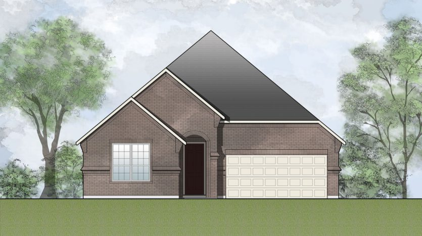 Drees Custom Homes Timber Creek subdivision 3908 River Bend Street McKinney TX 75071