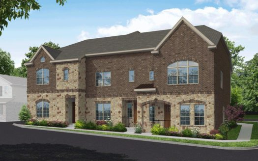 Beazer Homes Villas of Prestonwood subdivision 4425 Benton Lane Carrollton TX 75010