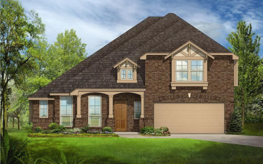 Bloomfield Homes Willow Wood subdivision 805 Claremont Ct McKinney TX 75071