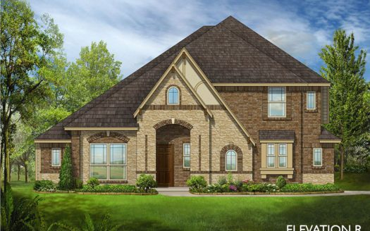 Bloomfield Homes Prosper Lake subdivision 1141 Vista Run Dr Prosper TX 75078