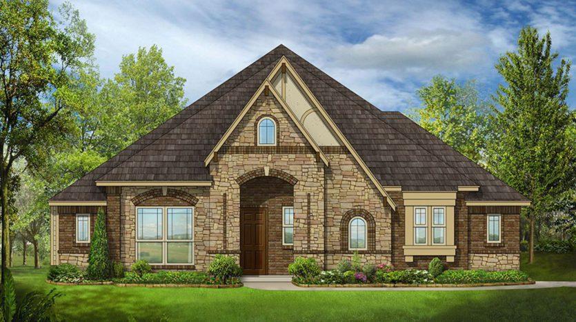 Bloomfield Homes Triple Diamond Ranch subdivision 2601 Gavin Drive Mansfield TX 76063