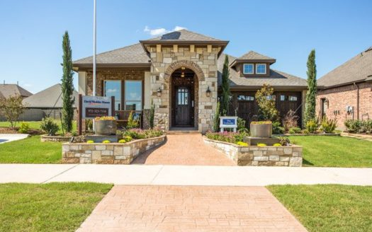 David Weekley Homes Highland Court Cottage subdivision 4963 Stornoway Drive Flower Mound TX 75028