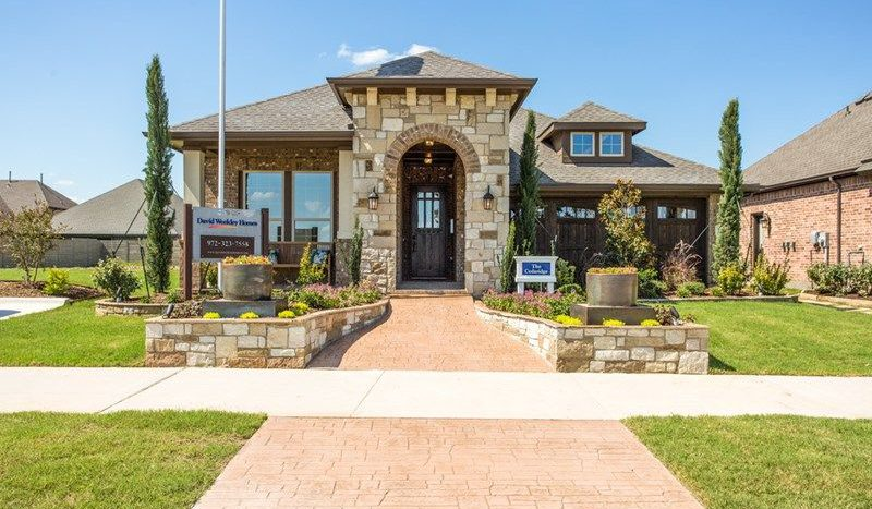 David Weekley Homes South Pointe  Cottage Series subdivision 1817 Friedrich Drive Mansfield TX 76063