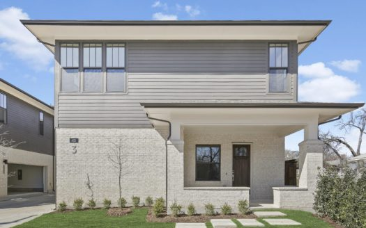 Centre Living Homes C.L.  Kings Highway subdivision 621 N. Tyler St Dallas TX 75208
