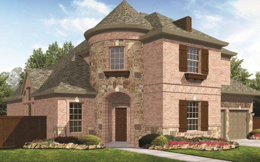 Village Builders Phillips Creek Ranch 65' subdivision 7070 Coulter Lake Road Frisco TX 75036