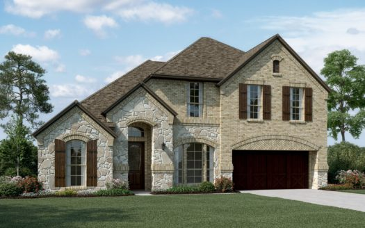 K. Hovnanian® Homes Trailwood subdivision 5232 Ravine Ridge Court Roanoke TX 76262