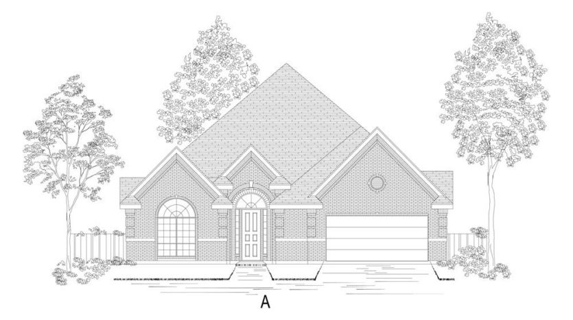First Texas Homes Wellspring Estates subdivision 2808 Fountain Park Drive Celina TX 75009