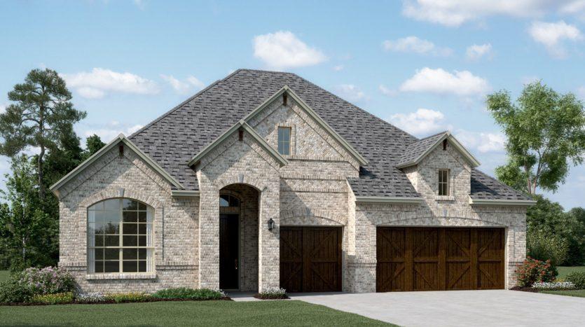 K. Hovnanian® Homes Trailwood subdivision 5232 Ravine Ridge Court Roanoke TX 76262