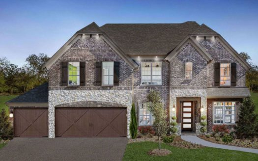 Landon Homes Lexington Country Classic Series subdivision 13055 Strike Gold Blvd Frisco TX 75035