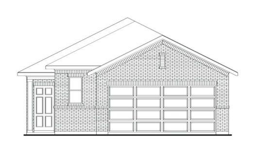 Impression Homes Aubrey Creek Estates subdivision 1011 Pecos Street Aubrey TX 76227