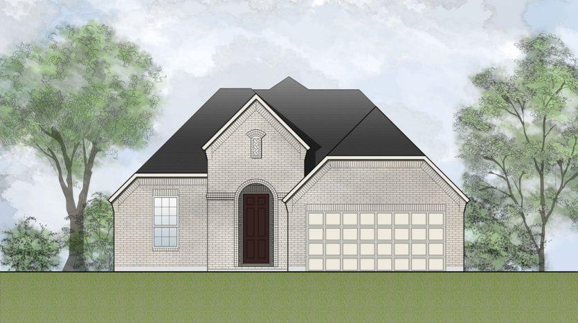 Drees Custom Homes Seventeen Lakes subdivision 14200 Spitfire Trail Roanoke TX 76262