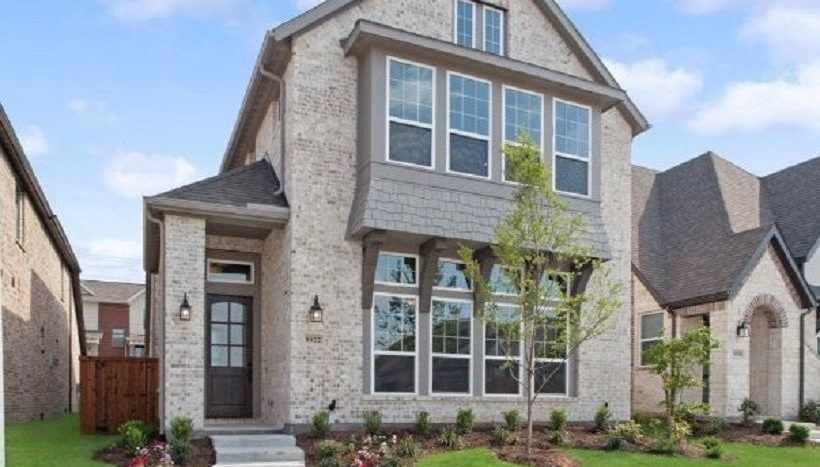 Ashton Woods Southern Hills subdivision 8413 Pine Valley Drive McKinney TX 75070