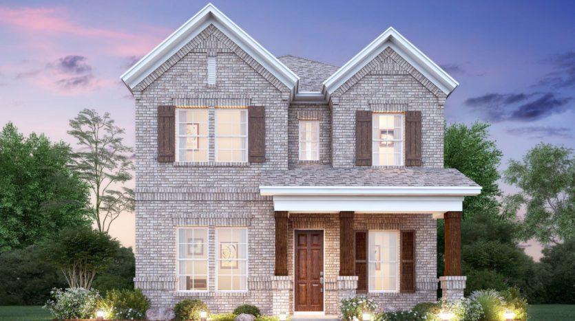 M/I Homes Riverset subdivision 1718 Cherokee Rose Trail Garland TX 75042