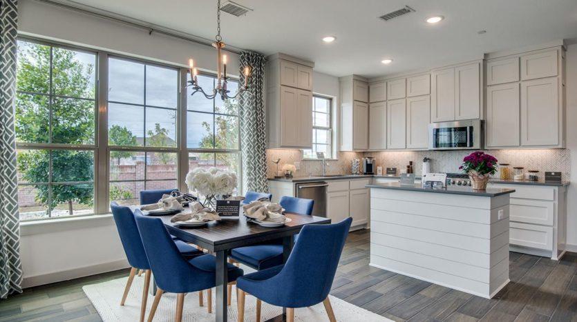 CB JENI Homes Ridge View Villas subdivision 3966 Sukay Drive McKinney TX 75070