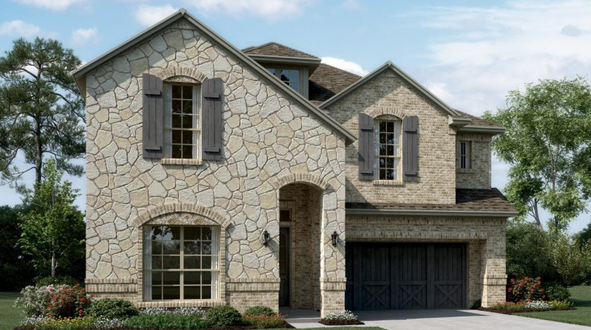 K. Hovnanian® Homes Calloway Trails subdivision 1605 Spanish Bay Court Frisco TX 75034