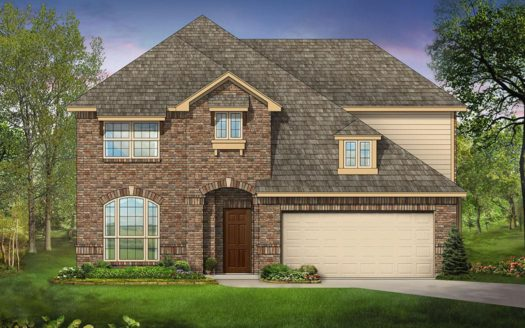 Bloomfield Homes Lakeview Estates subdivision 1205 Bridgeport Drive Anna TX 75409